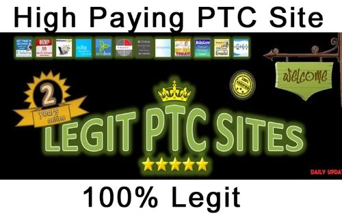 best high paying pay per click sites list