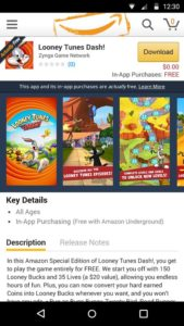 amazon underground app store download