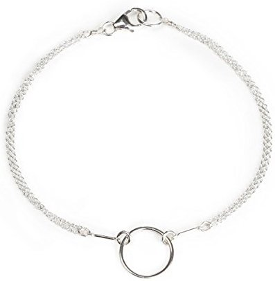 Dogeared Sterling Silver Classic Original Karma Carded Boxed Bracelet