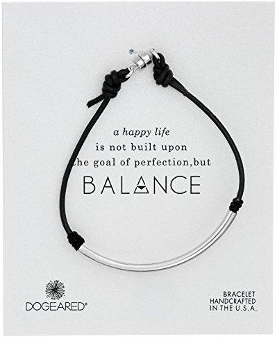 "Dogeared ""Balance"" Brown Bracelet"