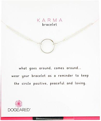Dogeared Original Karma Charm Bracelet