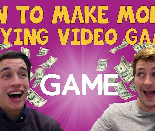 earn money playing video games